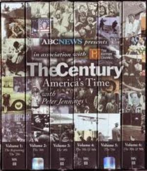The Century Episode 1930's Stormy Weather with Key Video Study Guide