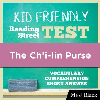 The Ch'i-lin Purse Kid Friendly Reading Street Test