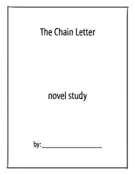 The Chain Letter Novel Study