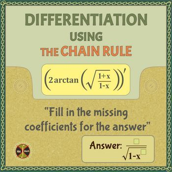 Calculus Differentiation : Finding Derivatives Using the Chain Rule (typed sol)