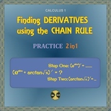Calculus Differentiation : The Chain Rule - Practice 2 in 1 (typed solutions)