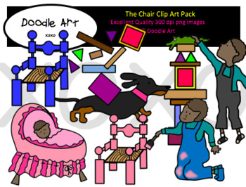 The Chair Clipart Pack