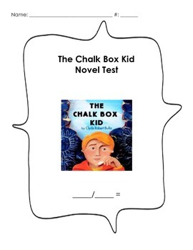 The Chalk Box Kid - Book Test