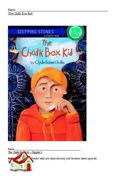The Chalk Box Kid-Guided Reading