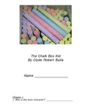 The Chalk Box Kid Guided Reading Worksheets