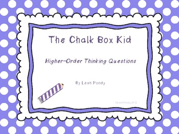 The Chalk Box Kid Higher Order Thinking