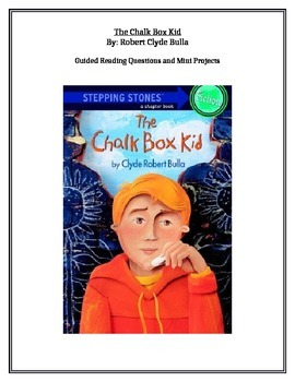 The Chalk Box Kid Reading Unit