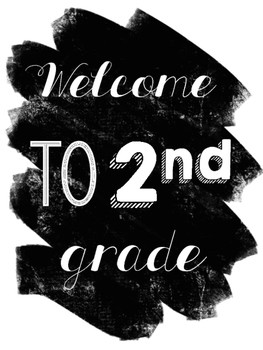 The Chalkboard Classroom Decor Set