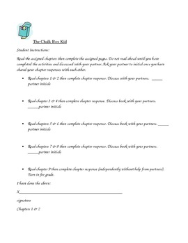 The Chalkbox Kid Book Club guided activities