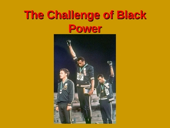The Challenge of Black Power PPT