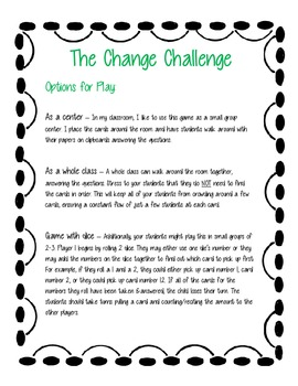The Change Challenge