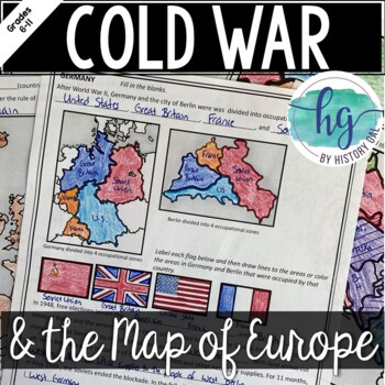 Cold War: The Changing Borders of Europe: 1945-1993