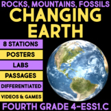 The Changing Earth - History of Planet Earth BUNDLE - Fourth Grade Science
