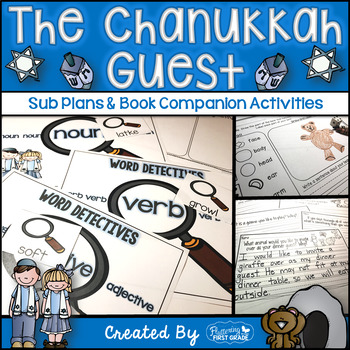 The Chanukah (Hanukkah) Guest ~ Book Activities for the Co