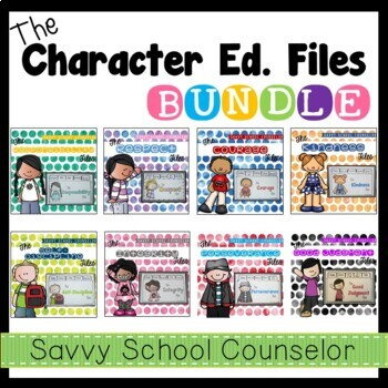 The Character Ed. Files Bundle