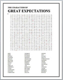 The Characters of Great Expectations word search puzzle