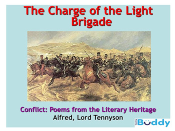 The Charge of the Light Brigade (Alfred Lord Tennyson) teaching resources