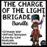 The Charge of the Light Brigade Poetry Bundle, Fiction and Non-Fiction Pairings