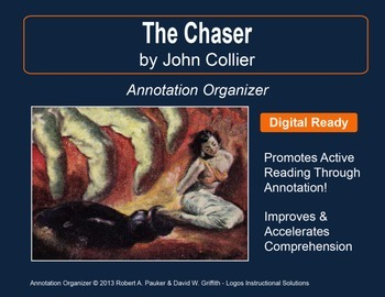 """Chaser"" by John Collier: Annotation Organizer"
