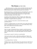 The Chaser short story and questions