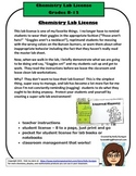 The Chemistry Lab License - How a Piece of Paper Can Change Your Life