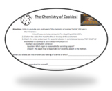 The Chemistry of Cookies - TED ED - Holiday Science Worksheet (Editable)