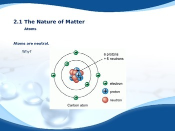 The Chemistry of Life PowerPoint for Biology I