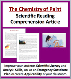 The Chemistry of Paint - A Science Reading Comprehension