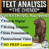 The Chenoo by Joseph & James Bruchac - Text Dependent Analysis Narrative Writing