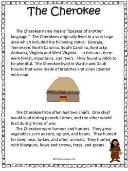 The Cherokee Tribe
