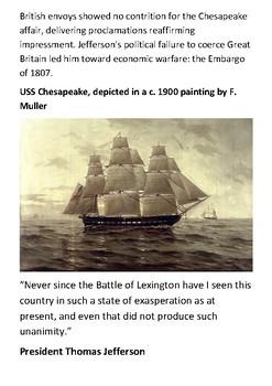 The Chesapeake–Leopard affair Handout