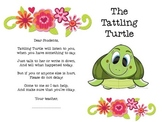 The Chic Tattling Turtle