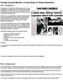 The Chicago Cyanide Murders (Answer Key)