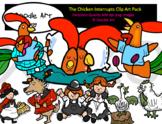 The Chicken Interrupts Clip Art Pack