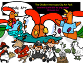 The Chicken Interrupts Clip Art Pack