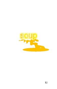 'The Chicken Soup' Volume 5 PreReader by Carol Lee Brunk Comprehension Book