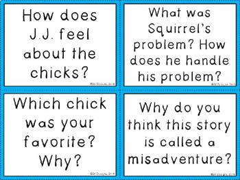 The Chicken Squad Discussion Question Cards