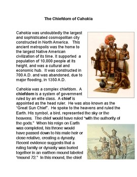 The Chiefdom of Cahokia