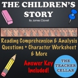 """The Children's Story"" Reading Comprehension & Analysis Questions w/ Answer Key"