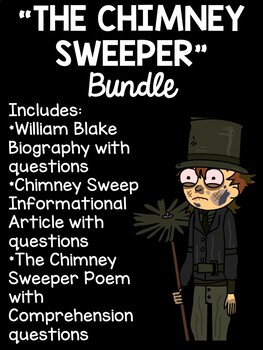 The Chimney Sweeper By William Blake Poetry Bundle Paired Passages