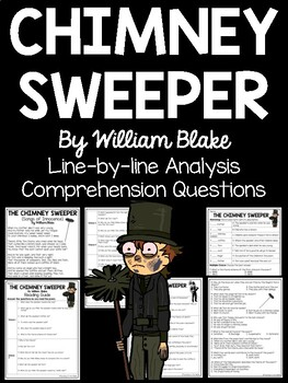 The Chimney Sweeper, William Blake Reading Guide, Comprehe