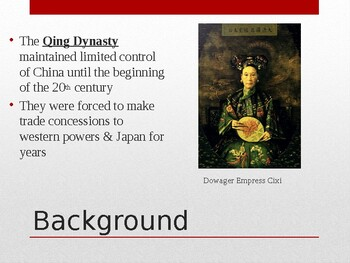 The Chinese Revolution PowerPoint (Day 4)