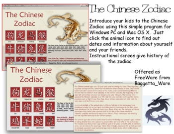 The Chinese Zodiac Calendar for Windows PC