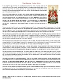 The Chinese Zodiac Story - Reading Comprehension Worksheet