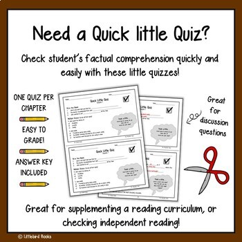 The Chocolate Touch Comprehension Questions