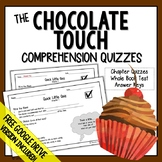 The Chocolate Touch Comprehension Questions (Chocolate Tou