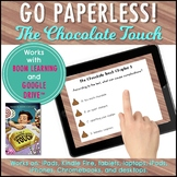 The Chocolate Touch Boom Cards & Google Drive™ 3rd Grade Novel Study