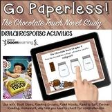 Google Classroom™ The Chocolate Touch 3rd Grade Novel Study sample