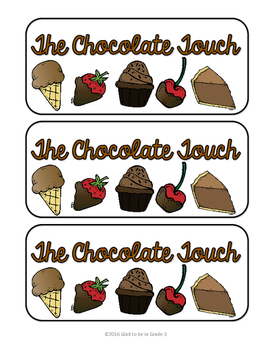 Chocolate Touch: A Book Companion