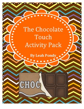 The Chocolate Touch Activity Pack
